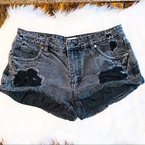 Cotton On Ripped Shorts Size 12